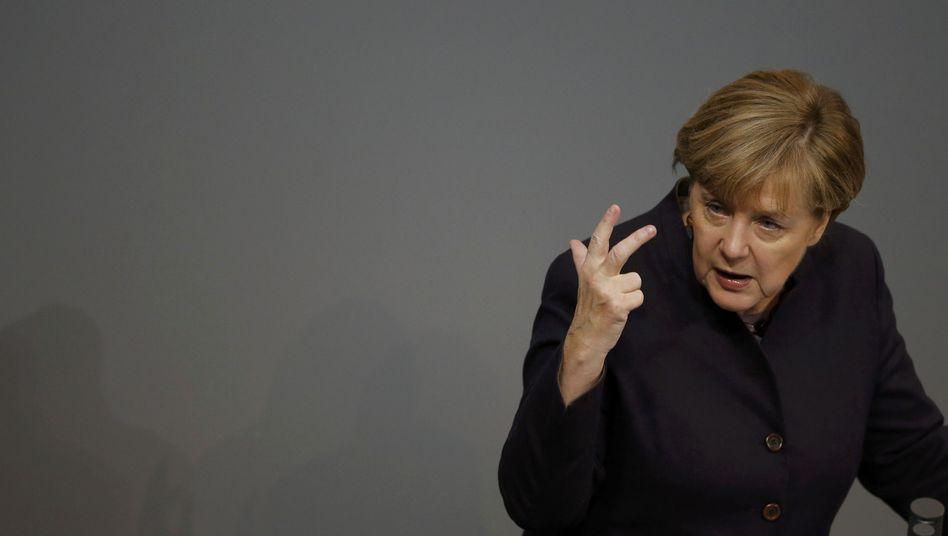 Kanzlerin Merkel: Es geht ums Prinzip
