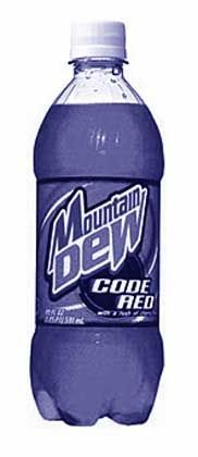 Code Red, Softdrink- Sensation aus dem Pepsi-Labor: Immer eine absonderliche Idee voraus