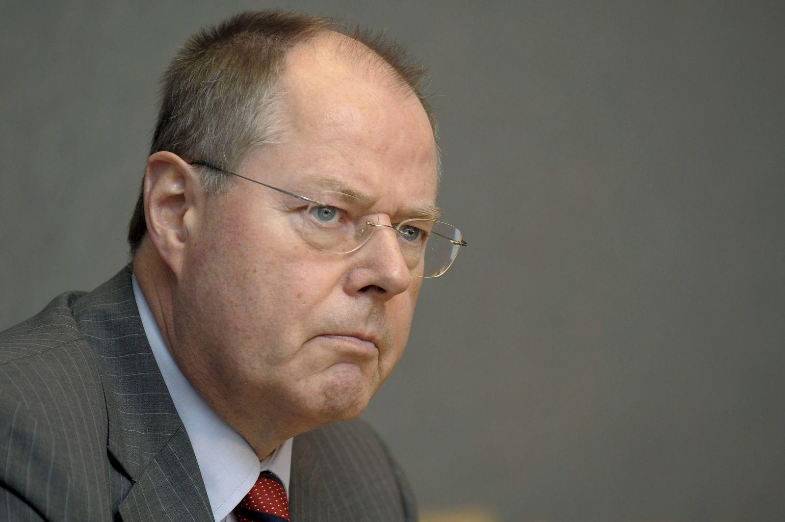 Finanzminister / Peer Steinbrück