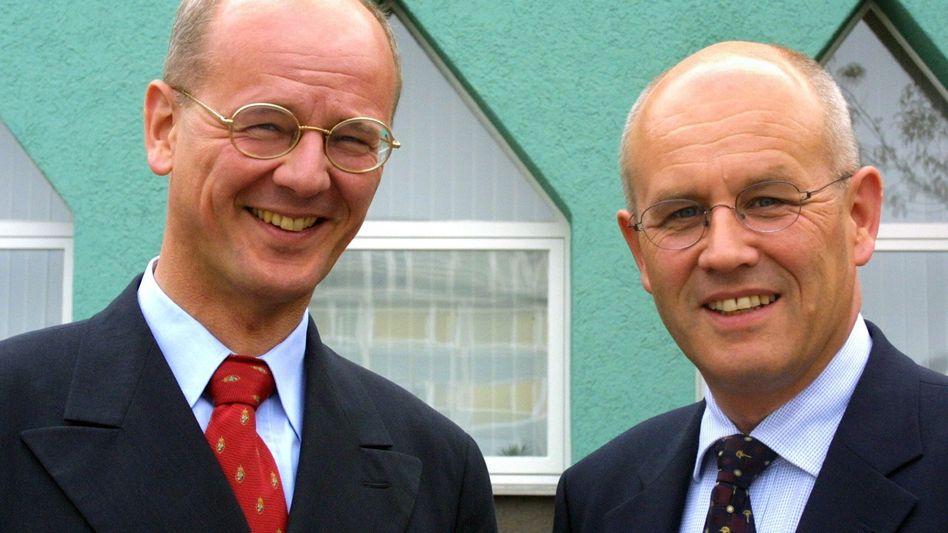 Nicht immer einer Meinung: Die Brüder und CDU-Politiker Siegfried (l.) und Volker Kauder