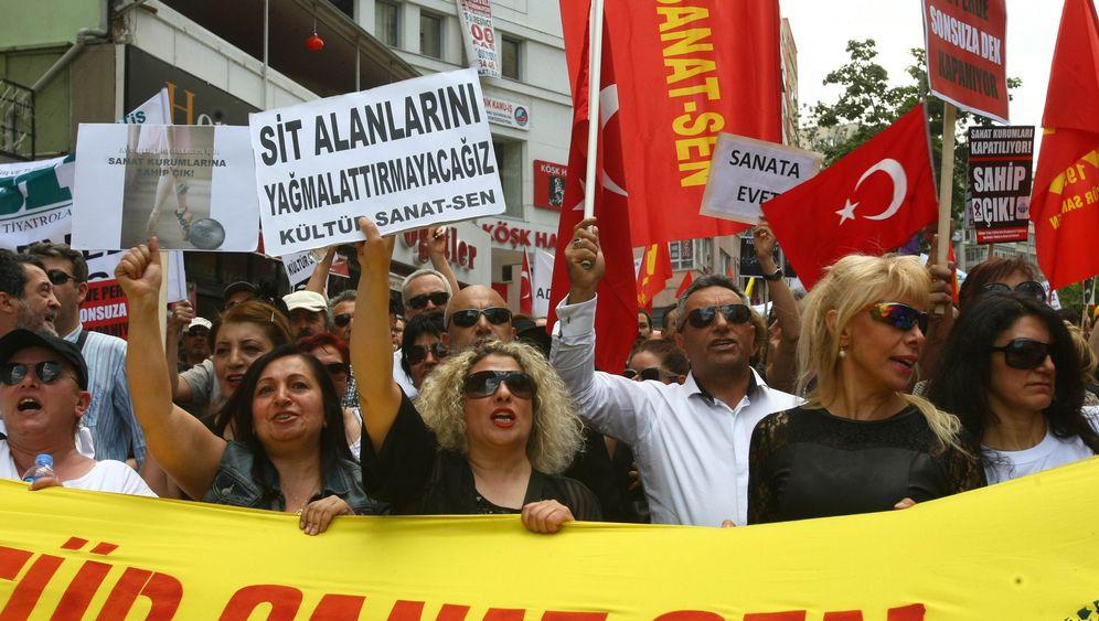 Protest in der Türkei: Vereint gegen Erdogan