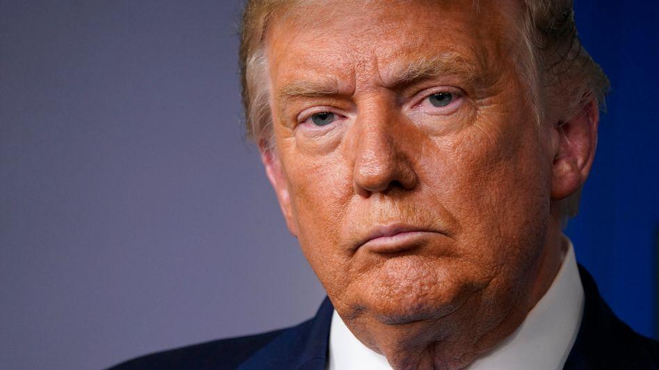 US-Präsident Donald Trump will TikTok vom US-Markt verbannen