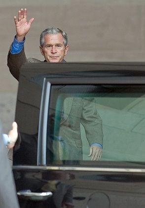 Buh bye, Bush.