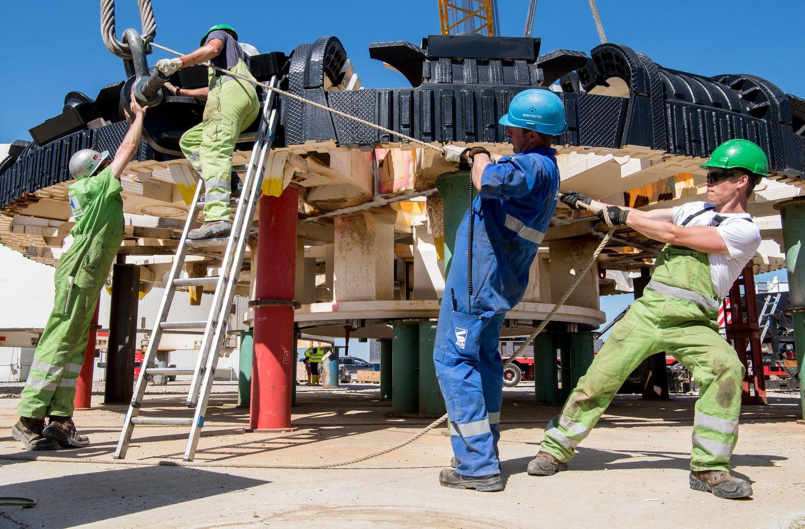 Baustelle/ Arbeiter