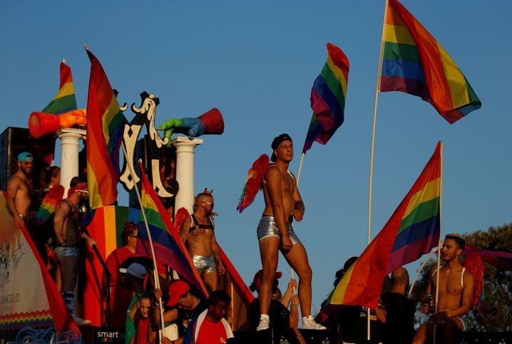 Pride-Parade in Maltas Hauptstadt Valletta im September 2018: Das Land hat einige der progressivsten LGBTQI-Gesetze der Welt – doch beim Thema Abtreibung gelten die strengsten Gesetze in der EU