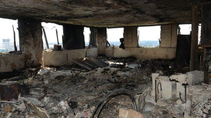 Hochhausbrand in London: Defekter Kühlschrank war Brandursache