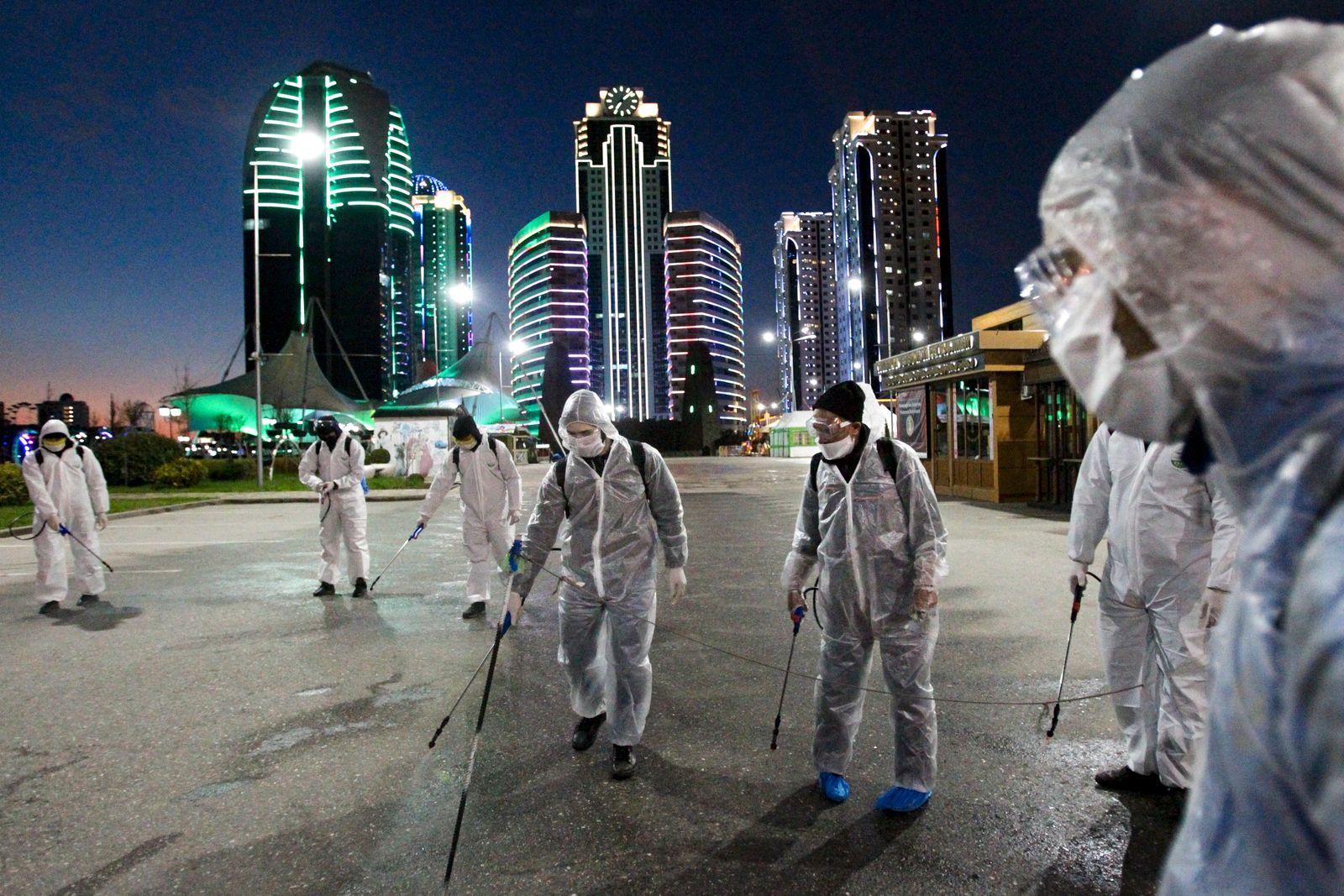 Virus Outbreak Russia