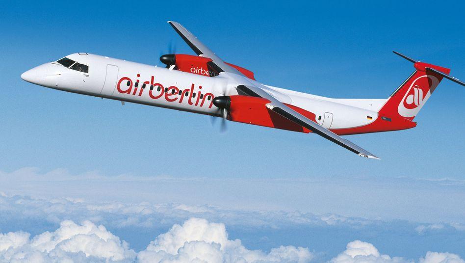 """Dash 8-Q400 von Air Berlin: """"Unsere leidenschaftliche Vollblutkanadierin"""""""