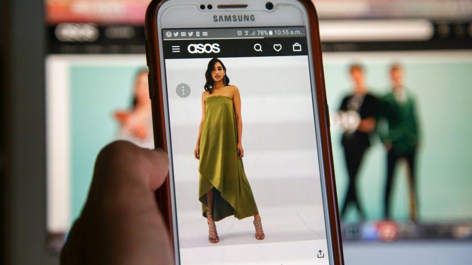 ASOS-Shopping auf dem Handy: Bis zu 4500 neue Teile pro Woche