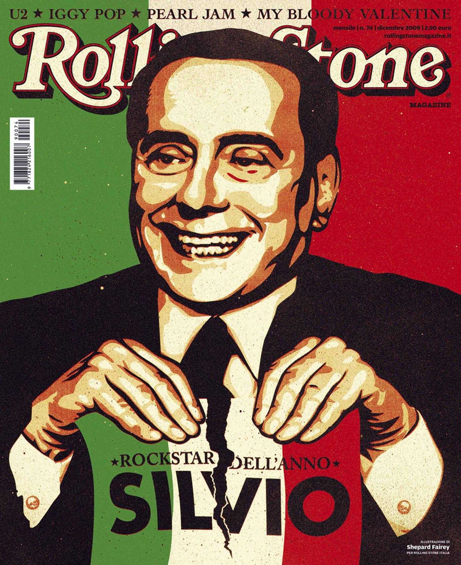 Berlusconi/ Rolling Stone
