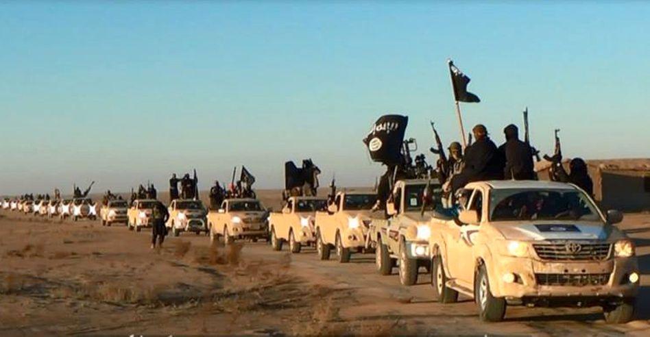 Radikalislamisten im Irak: Bei ihnen sind offenbar Waffen aus einer saudischen Lieferung angekommen