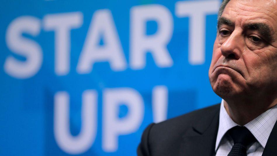 Französischer Präsidentschaftskandidat Francois Fillon