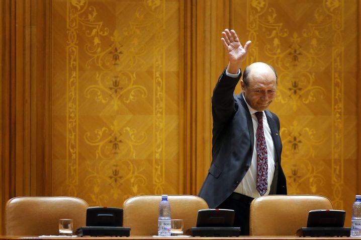 Rumäniens Ex-Staatspräsident Traian Basescu