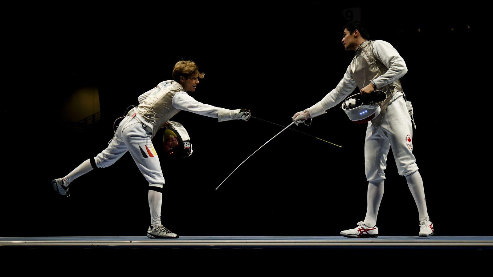 Fencing - Men's Team Foil - Last 16