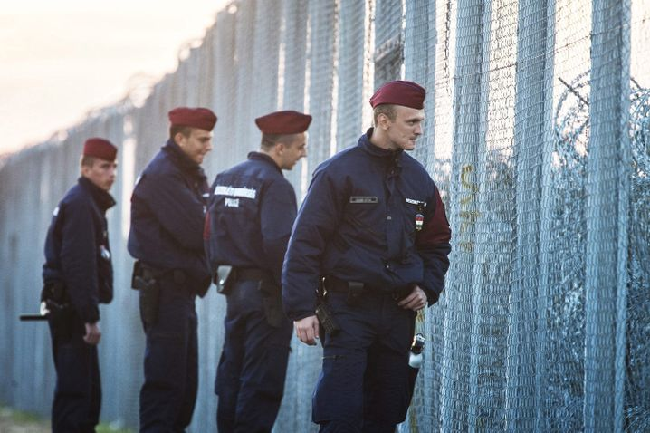 Grenzschützer in Ungarn