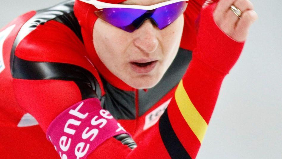 Eisschnelläuferin Anschütz-Thoms: Bronzemedaille bei der Europameisterschaft