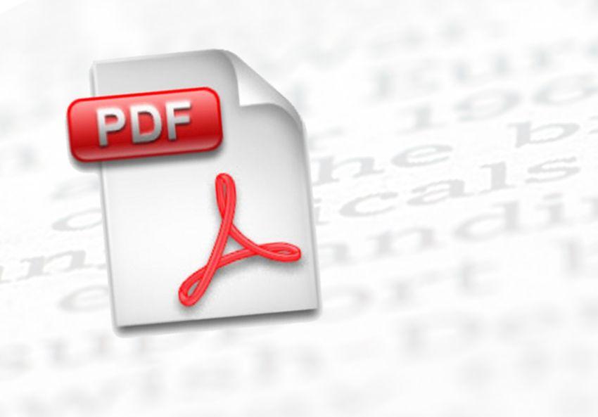 SYMBOLBILD PDF / Textdatei