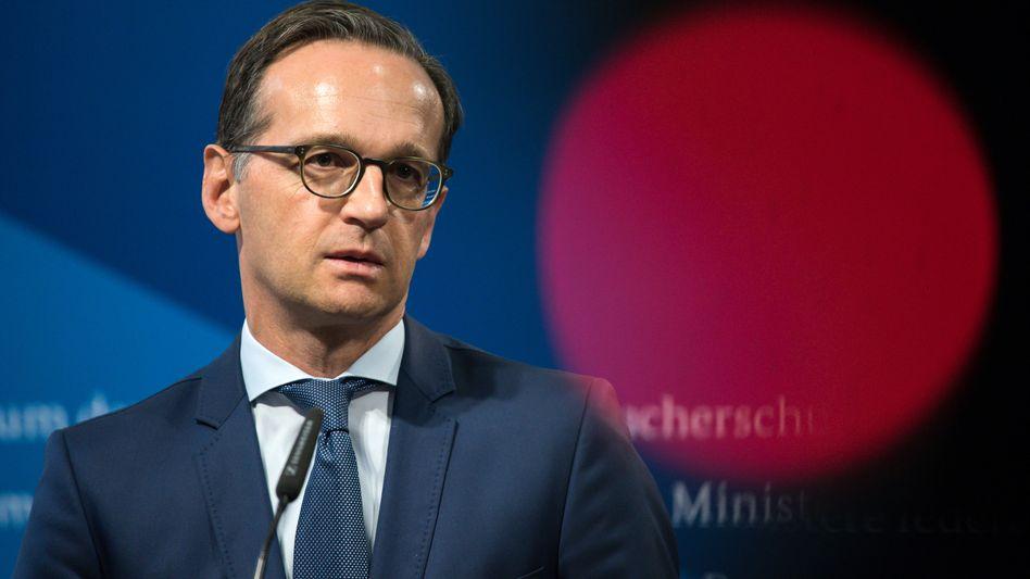 Justizminister Maas