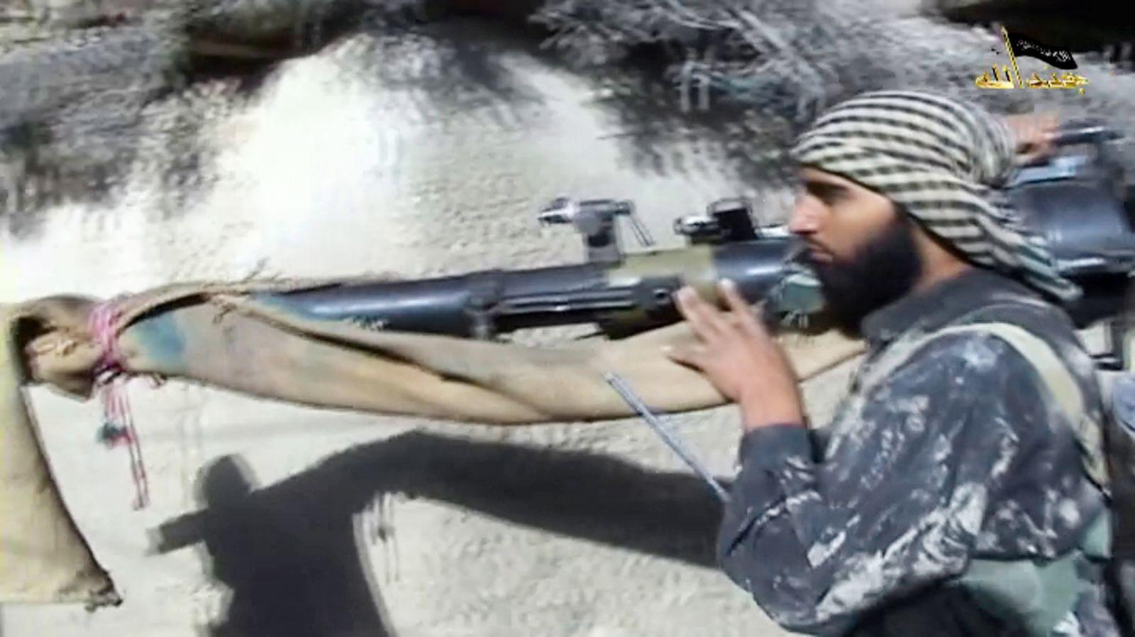 Dschihadist Dashti Propaganda Video