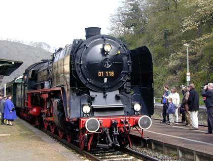 Die 01 118 der Historischen Eisenbahn Frankfurt: Seit 70 Jahren betriebsbereit und 3,5 Millionen Kilometer unter den Rädern