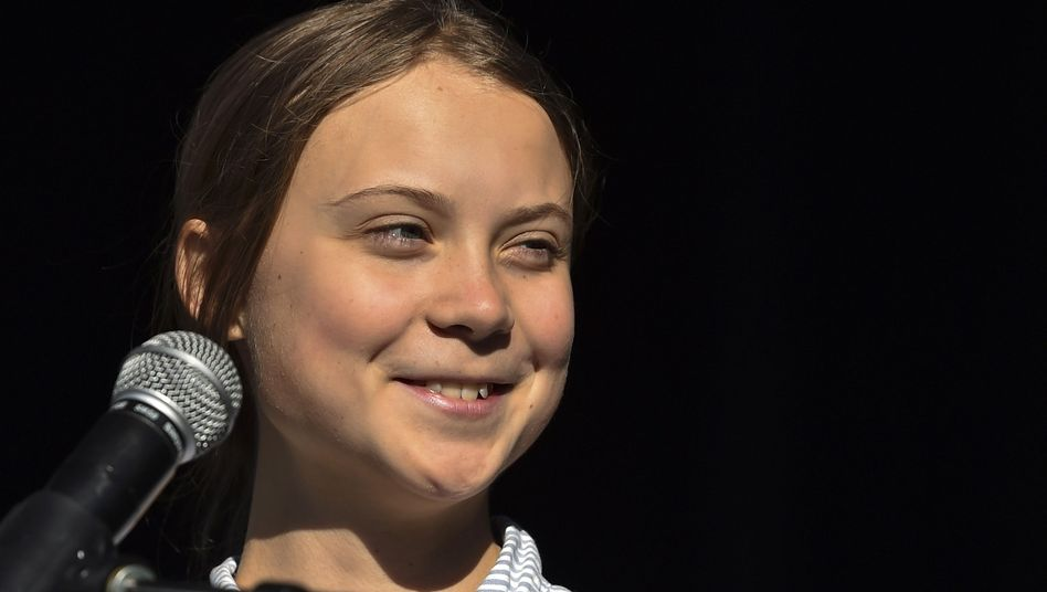 Greta Thunberg im kanadischen Montréal