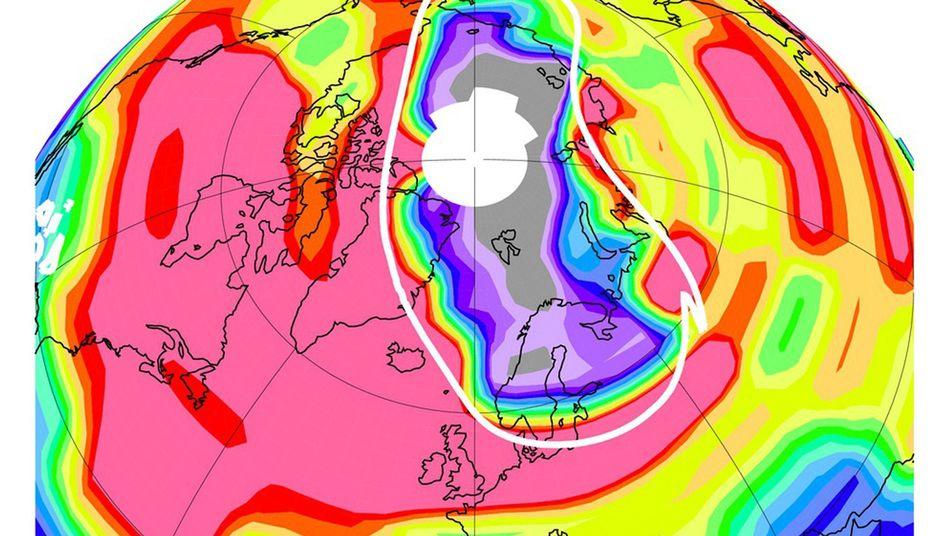 Ozonmangel über der Arktis (Ende März 2011): Forscher sprechen offiziell von Ozonloch