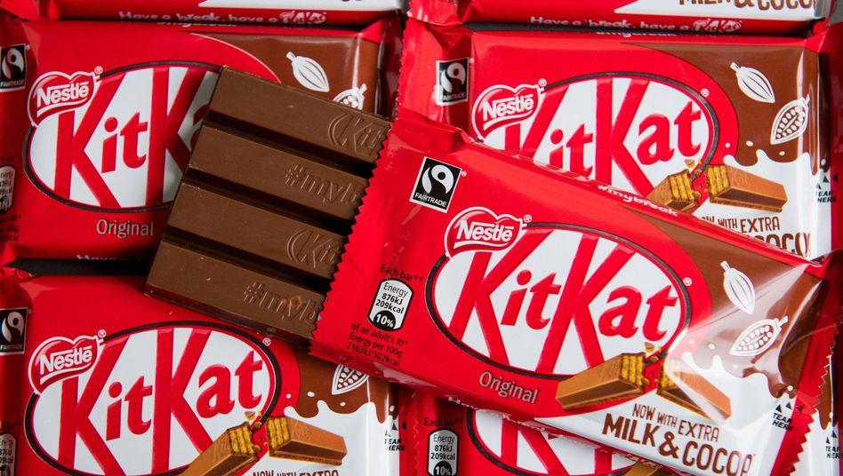 Kitkat-Schokoriegel