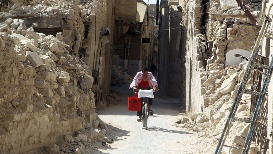 Zerstörte Altstadt von Aleppo: In dem Bürgerkrieg starben bisher mehr als 250.000 Menschen