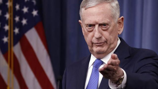 US-Verteidigungsminister Mattis