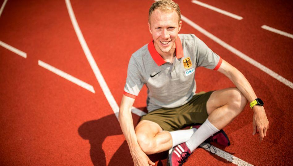 Von der Bahn auf die Straße: Richard Ringer will im Marathon angreifen