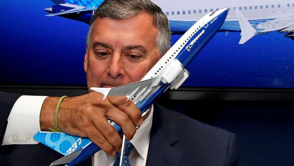 Kevin McAllister, bisheriger Chef der Verkehrsflugzeug-Sparte beim US-Unternehmen Boeing
