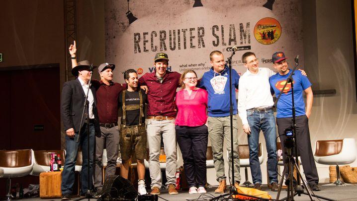 Recruiter Slam: Wenn Personaler reimen