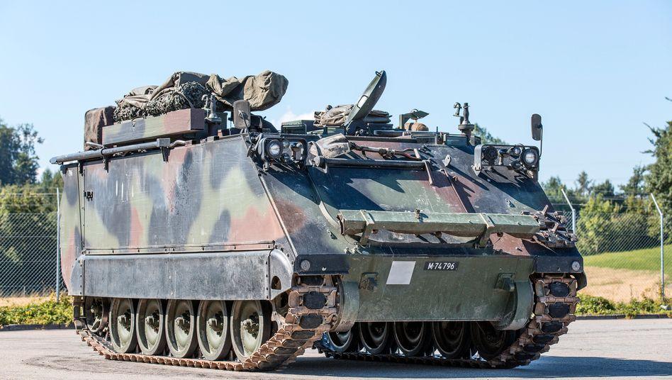 Transportpanzer M113 (Symbolbild)