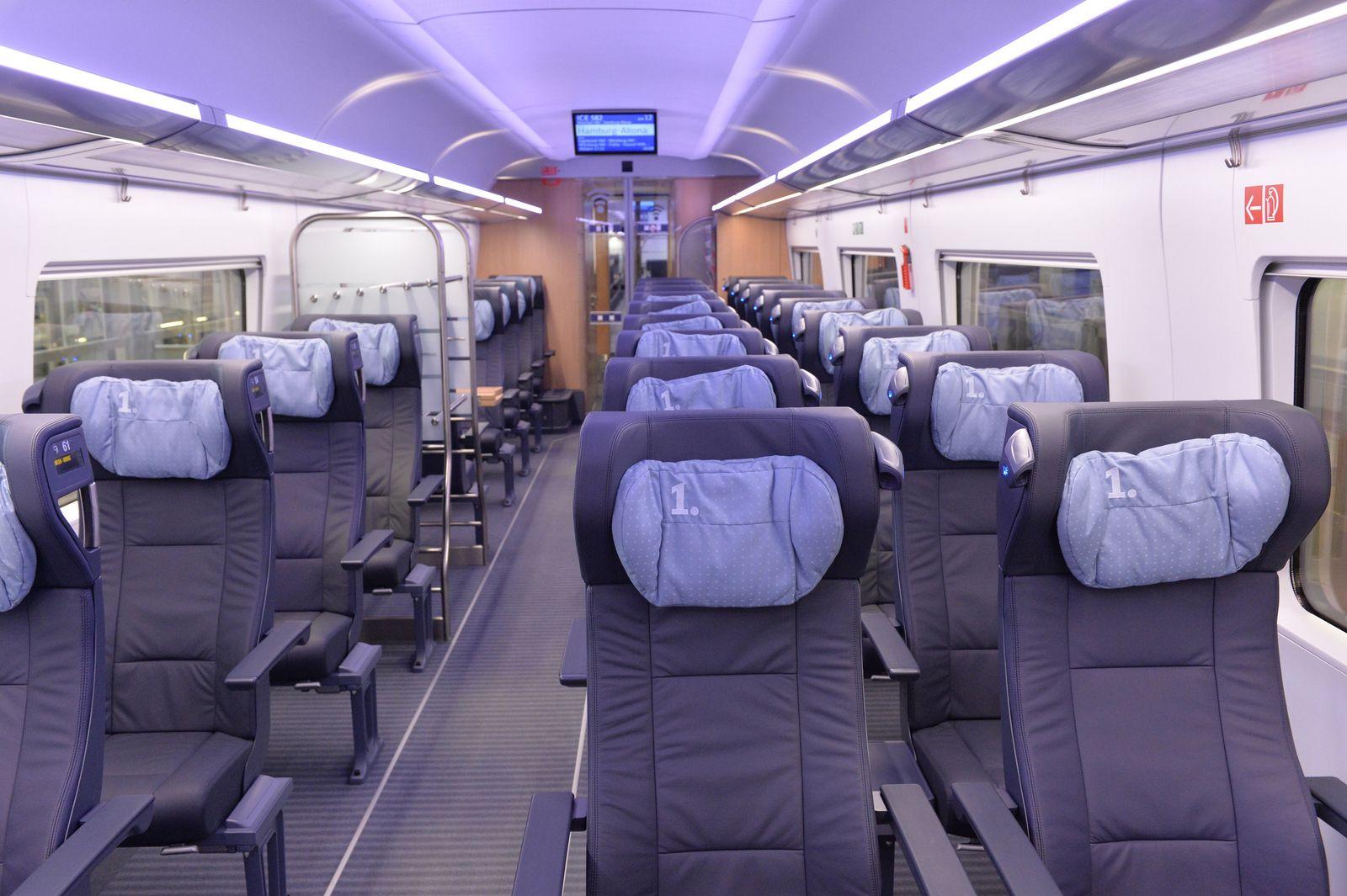 Bahn 1. Klasse/ ICE 4