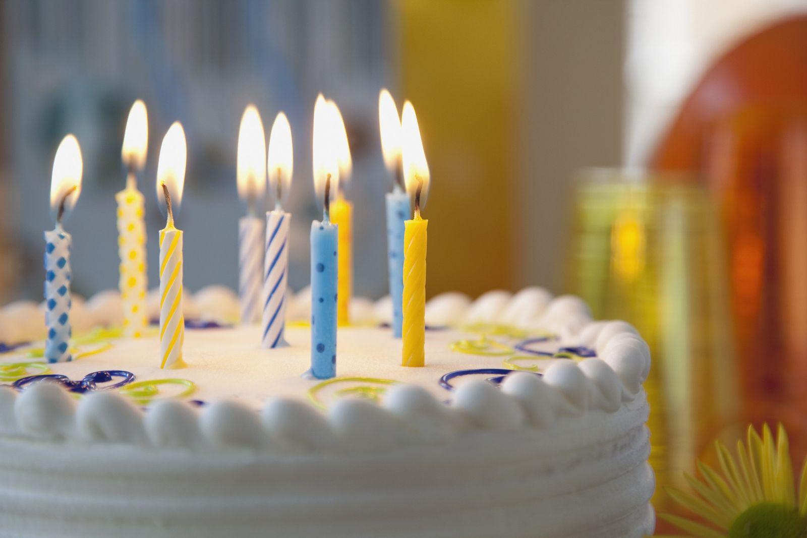 NICHT MEHR VERWENDEN! - Torte/ Kuchen/ Geburtstagstorte/ Kerzen