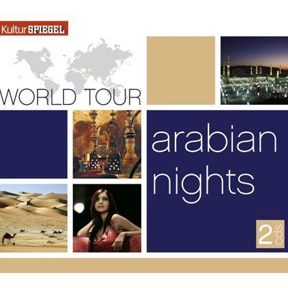 "CD-Cover ""World-Tour: Arabian Nights"""