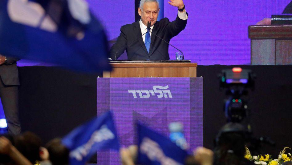 Benjamin Netanyahu: Bleibt Likud-Chef, aber auch israelischer Premier?