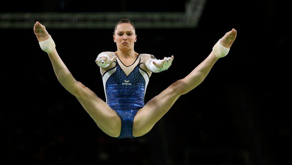 Sophie Scheder bei den Olympischen Spielen von Rio 2016