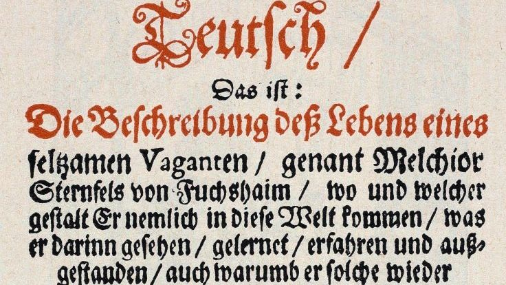 Titelblatt mit Grimmelshausens Pseudonym