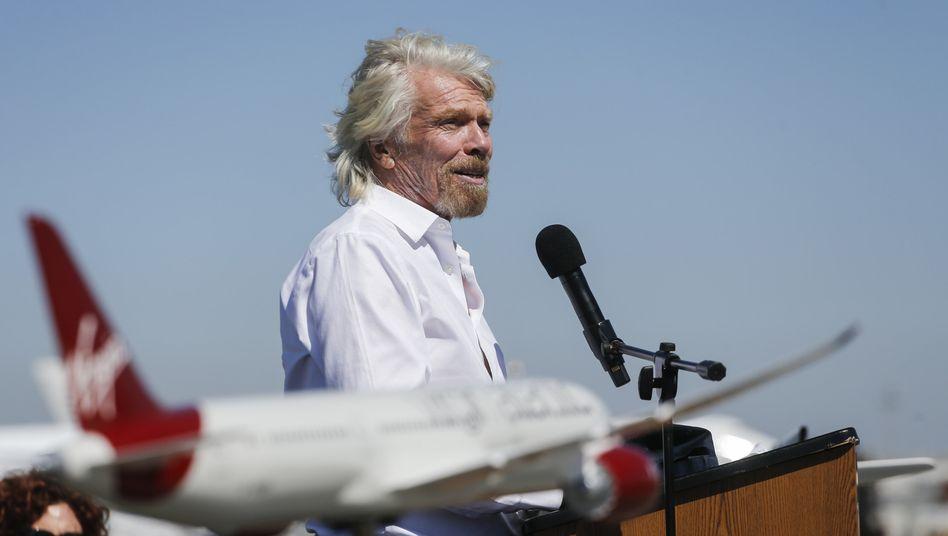 Virgin-Gründer Branson: ewig junger Querdenker