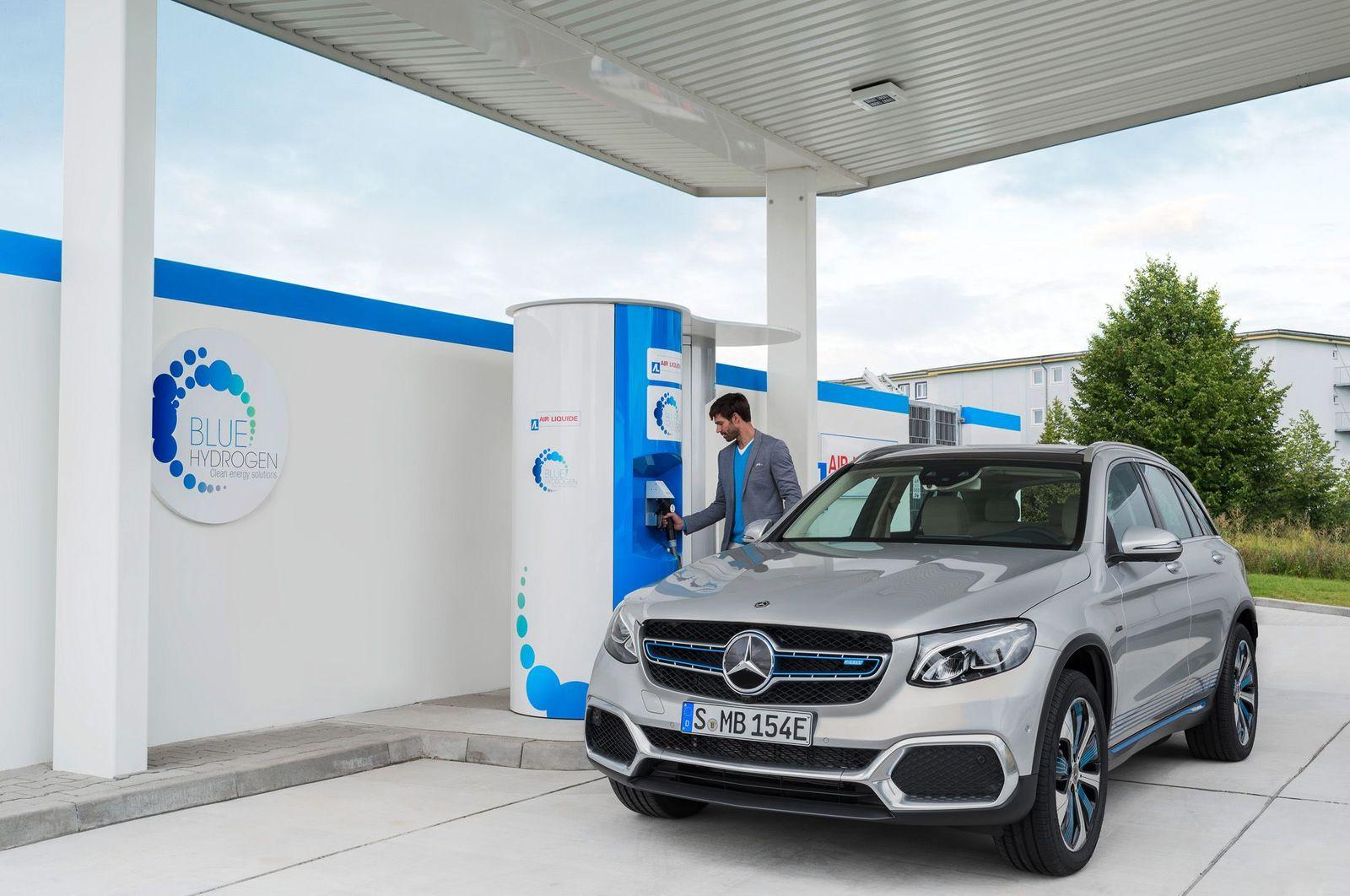 Brennstoffzelle / Mercedes-Benz GLC F-CELL (X253) 2017