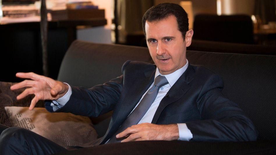 "Präsident Assad: Geheimprojekt ""Zamzam"""