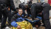 Polizei räumt Potsdamer Platz