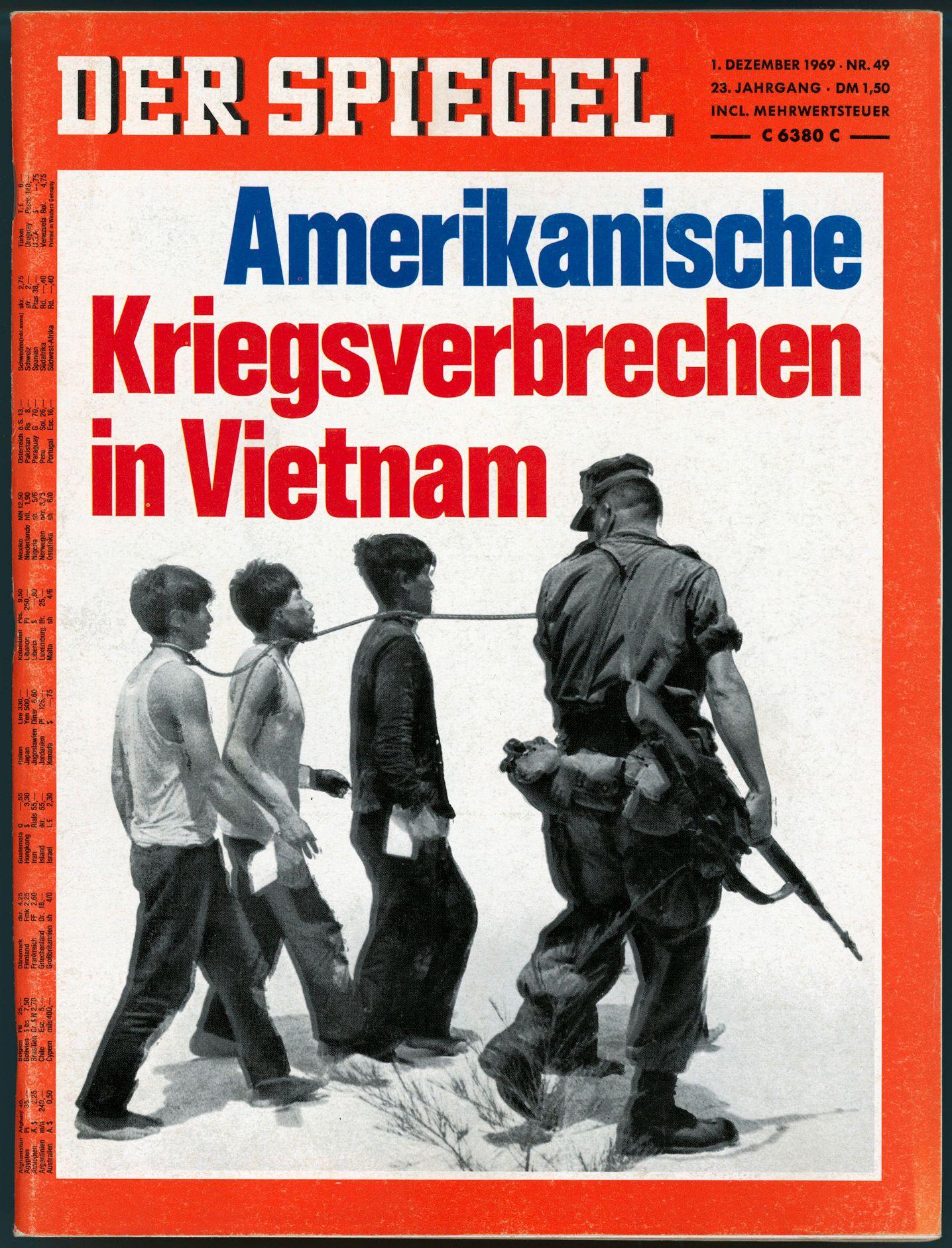 SPIEGEL-Titel 49/1969