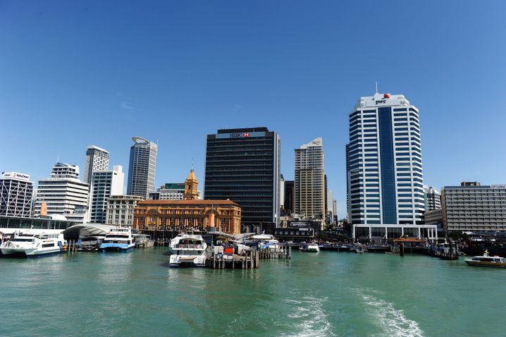 Skyline von Auckland (Archivbild 2011)