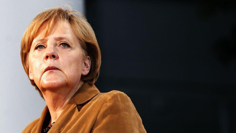Bundeskanzlerin Angela Merkel: Die Partei ist unruhig
