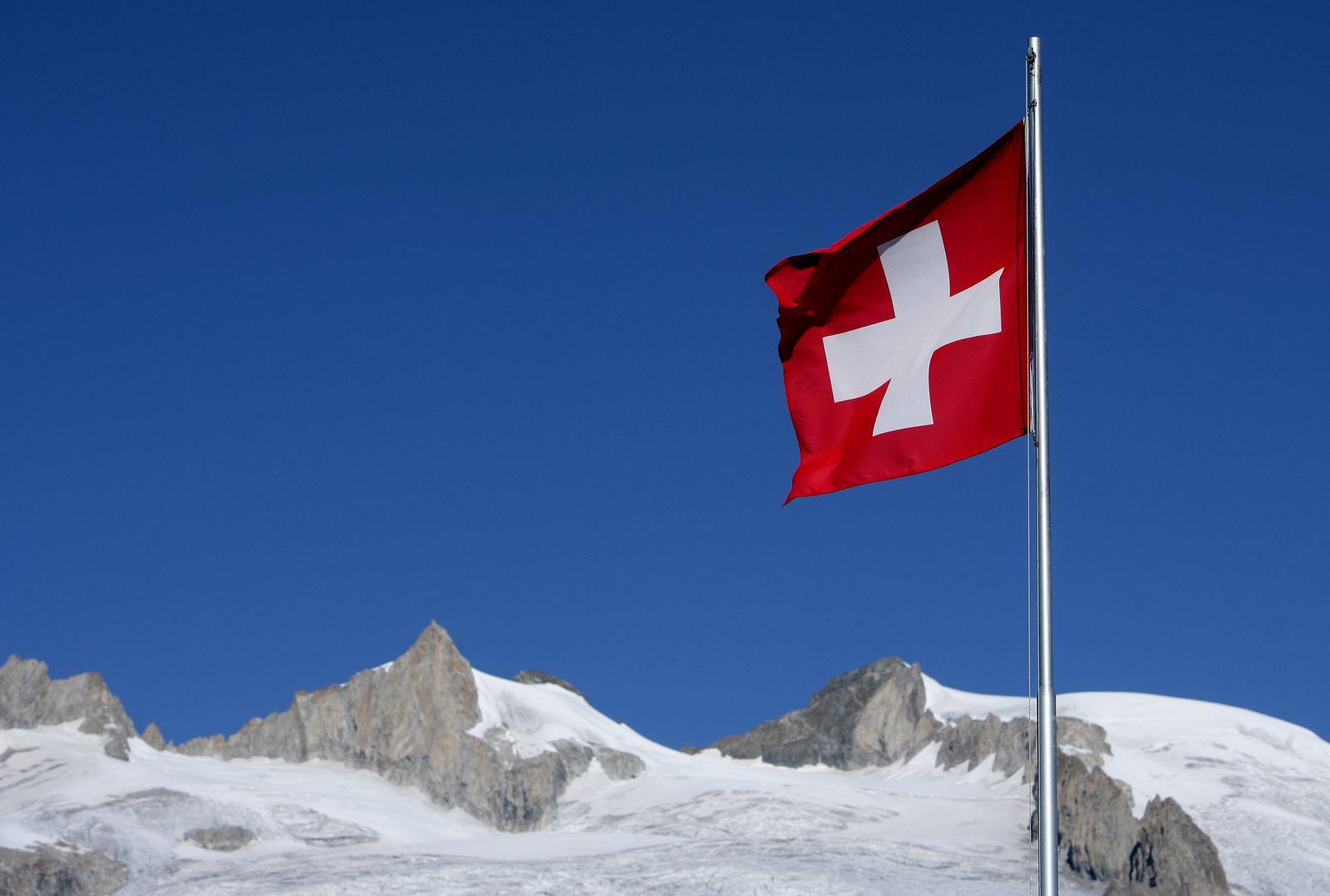 Symbolbild Schweiz/ Flagge