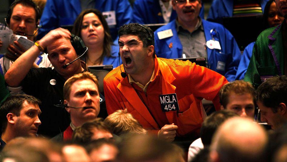 Börsen-Händler in den USA: Der Politik bleibt keine Zeit zum Nachdenken