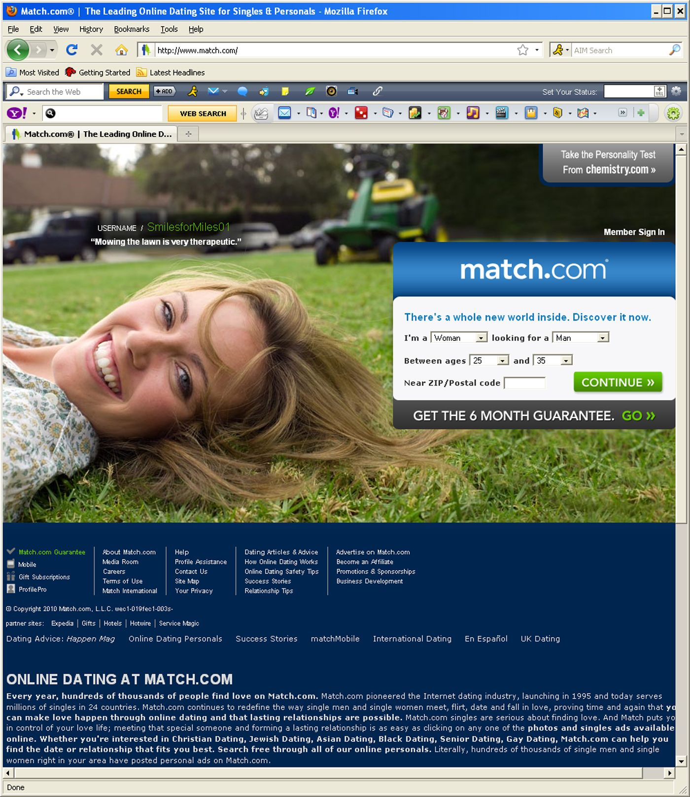 Yahoo Dating / Online Dating