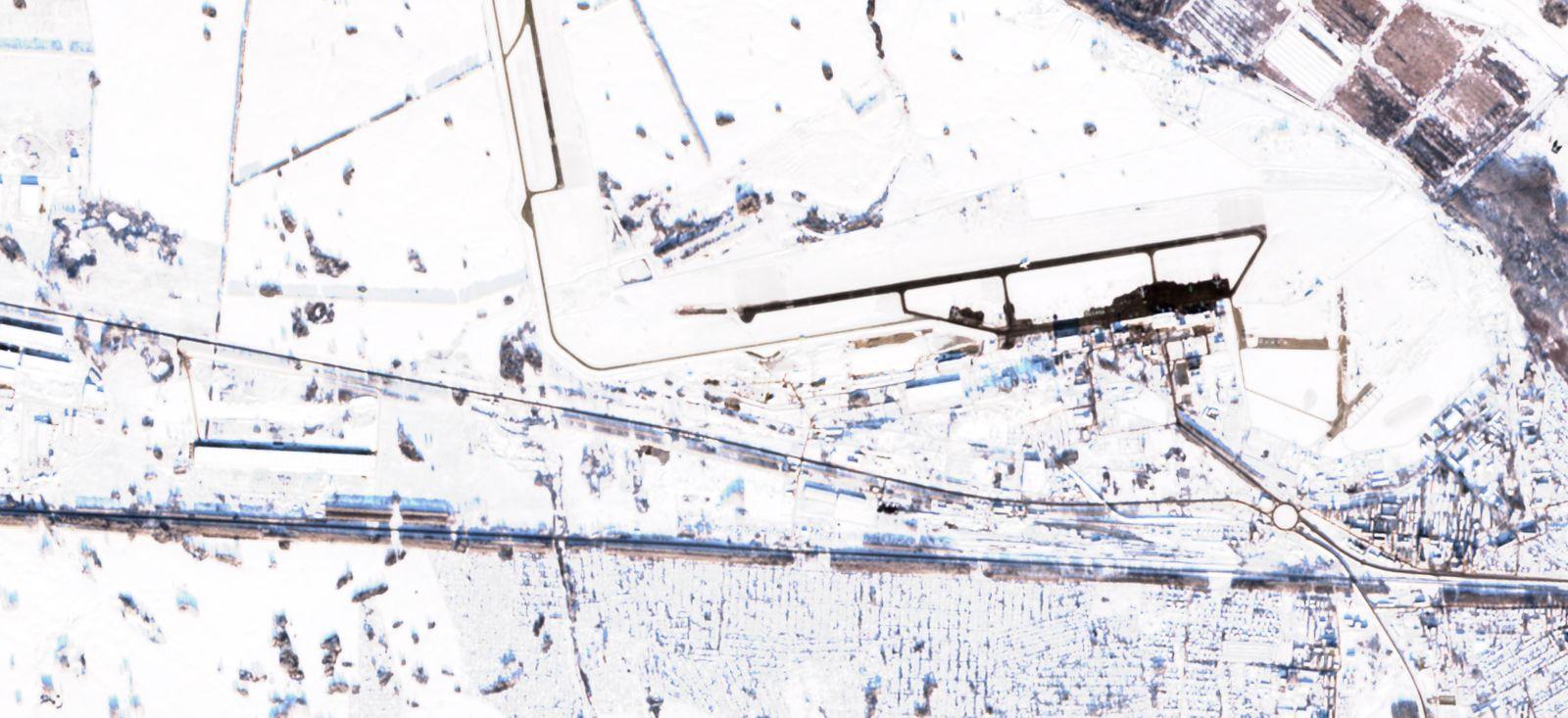 Flughafen Novosibirsk am 28.11.2020